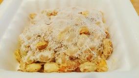 Een pak van bevroren natto royalty-vrije stock foto