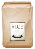 Een pakket rijst royalty-vrije illustratie