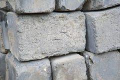 Een Pallet van Cinder Blocks stock fotografie