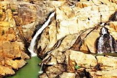 Een panorama van Dasham valt dichtbij Ranchi in India Royalty-vrije Stock Afbeelding