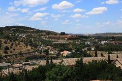 Een panorama van de stad van Toledo, Spanje Royalty-vrije Stock Foto