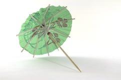 Een paraplu voor de cocktails royalty-vrije stock afbeeldingen