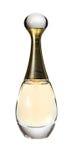 Een parfumfles op het wit royalty-vrije stock foto's