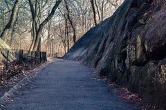 Een Park door de Waterkant stock fotografie