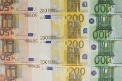 Een partij van eurocontant geld Royalty-vrije Stock Fotografie