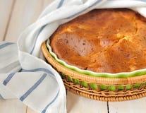Een pastei Sprincked met de Zaden van de Komijn Royalty-vrije Stock Fotografie