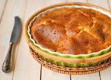 Een pastei Sprincked met de Zaden van de Komijn Stock Foto