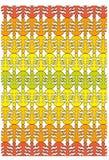 Een patroon van de tonen van de de herfstkleur Stock Foto's