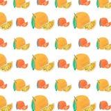 Een patroon van sinaasappel Stock Foto's