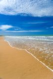 Een perfecte stranddag Royalty-vrije Stock Foto's