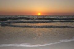 Een perfecte Zonsondergang Royalty-vrije Stock Afbeeldingen