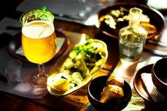 Een pint van Bier Stock Afbeelding