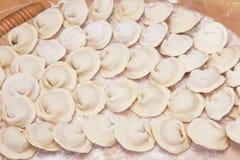 Een plaat van ravioli Royalty-vrije Stock Afbeeldingen