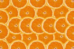 Een plak van sinaasappel Stock Foto
