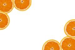 Een plak van sinaasappel Royalty-vrije Stock Afbeeldingen
