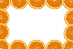 Een plak van sinaasappel Royalty-vrije Stock Foto's