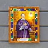 Een Plaque van Missionary Saint Antonio Maria Claret royalty-vrije stock afbeelding