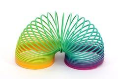 Een plastic stiekem stuk speelgoed Stock Foto