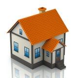 Een plattelandshuisje vector illustratie