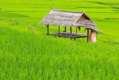 Een plattelandshuisje Stock Afbeeldingen