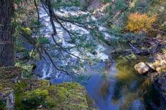 Een pool in de rivier royalty-vrije stock afbeeldingen