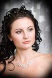 Een portret van een mooi meisje Stock Fotografie