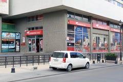 Een Postkantoor in Punta Arenas, Chili royalty-vrije stock afbeeldingen