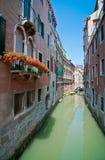 Een prentbriefkaar van Venetië Stock Afbeeldingen