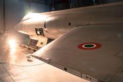 Een R.A.F. roundel op WO.II ook ww-2 of Wereldoorlog Twee vechtersvliegtuigen algemeen wordt gebruikt dat royalty-vrije stock afbeeldingen