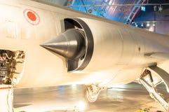 Een R.A.F. roundel op WO.II ook ww-2 of Wereldoorlog Twee vechtersvliegtuigen algemeen wordt gebruikt dat royalty-vrije stock foto