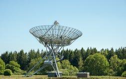 Een radiotelescoop in Nederland Stock Foto