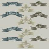 Een reeks banners voor uw ontwerp. Vector stock fotografie