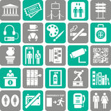 De pictogrammen van de reis Royalty-vrije Stock Foto