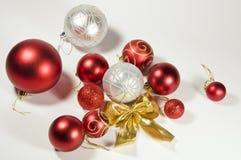 Een reeks speelgoed van Kerstmis Royalty-vrije Stock Afbeelding