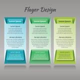 Een reeks van drie kleurrijke patronen voor gedrukte producten Stock Afbeelding