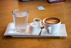 Een reeks van koffie Stock Afbeeldingen