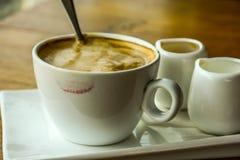 Een reeks van koffie Royalty-vrije Stock Afbeeldingen