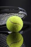 Een reeks van tennis Racket en racket Ball Royalty-vrije Stock Foto