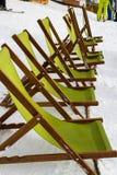 Een reeks zonlanterfanters Stock Foto