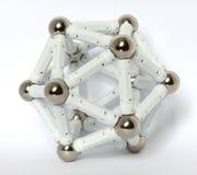 Een regelmatige icosahedron Stock Foto