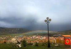 Een Regenboog, Maniganggo Royalty-vrije Stock Fotografie