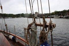 Een reis op een oude zeeman Stock Afbeeldingen
