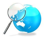 Een rente in Azië vector illustratie