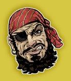Klassieke Piraat vector illustratie