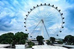 Een Reuzenrad in Singapore royalty-vrije stock fotografie