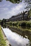 De gebouwen van de rivieroever Royalty-vrije Stock Foto