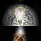 Een rijk idee Stock Afbeelding