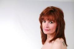 Een rijpe Vrouw Royalty-vrije Stock Foto