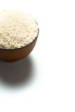 Een rijst in een kom Royalty-vrije Stock Afbeeldingen