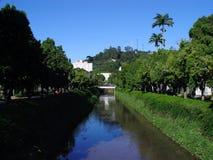 Een rivier Stock Fotografie